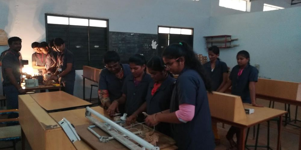 electrical and electronics engineering department lab